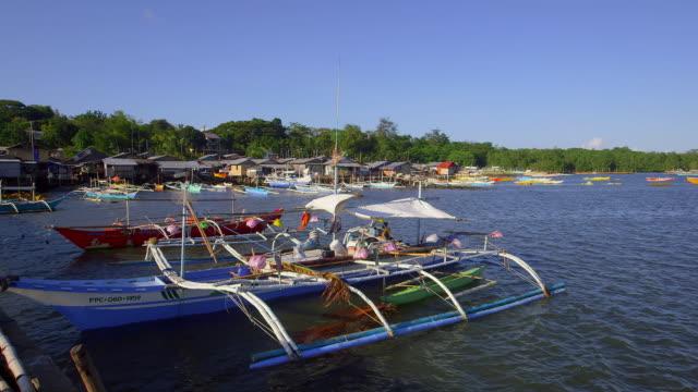 sea scene palawan - stabilisers stock videos & royalty-free footage