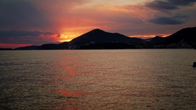 Meer Sonnenuntergang