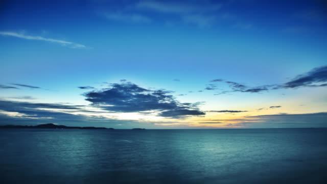 海の夕日 - パタヤ点の映像素材/bロール