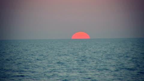 海の夕日 - テルアビブ点の映像素材/bロール