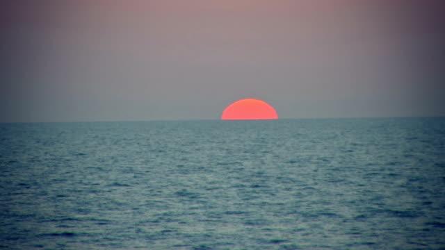 sea sunset - israel stock videos & royalty-free footage