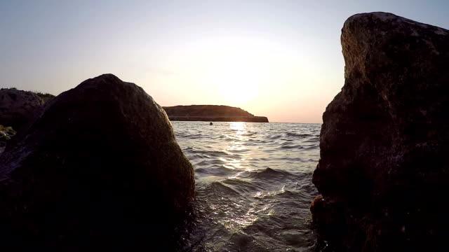 sea sunset - sea robin bildbanksvideor och videomaterial från bakom kulisserna