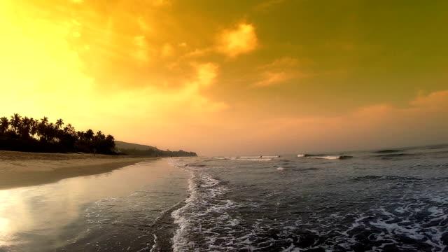 sea sunset - sea robin stock videos & royalty-free footage