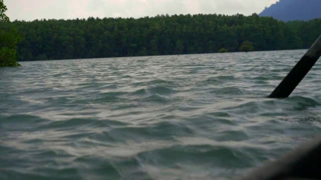 slo mo: sea surface reflection of sunlight. - koh chang stock videos and b-roll footage