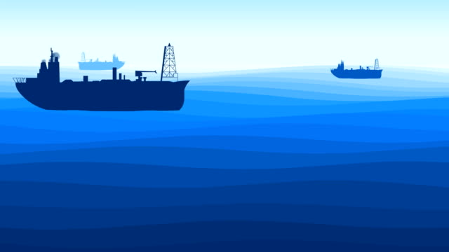 vidéos et rushes de la mer - illustration