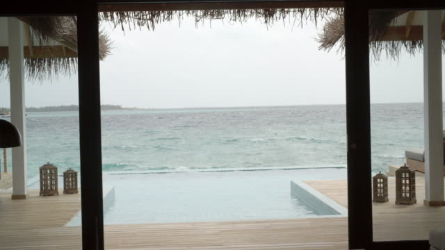 Sea View from Bungalow / Hithadhoo, Maldives