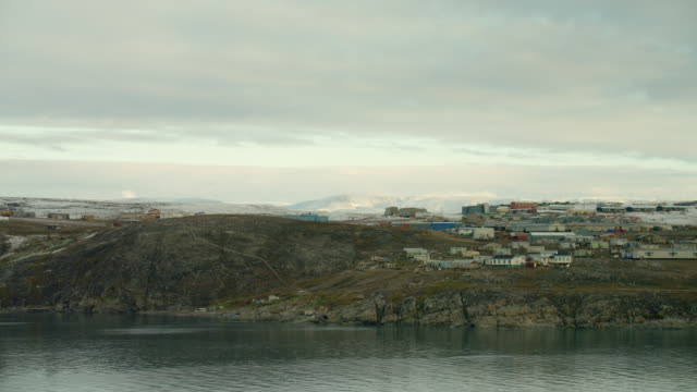 Sea View Of Pond Inlet In Northern Canada