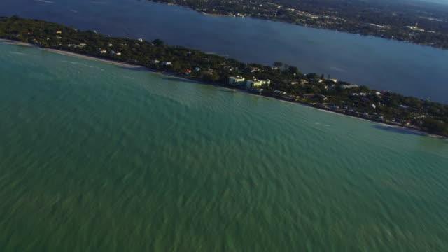 Sea Wall Erosion beach front Florida West Coast Aerials