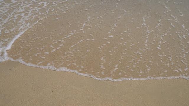 Mare onda sulla sabbia