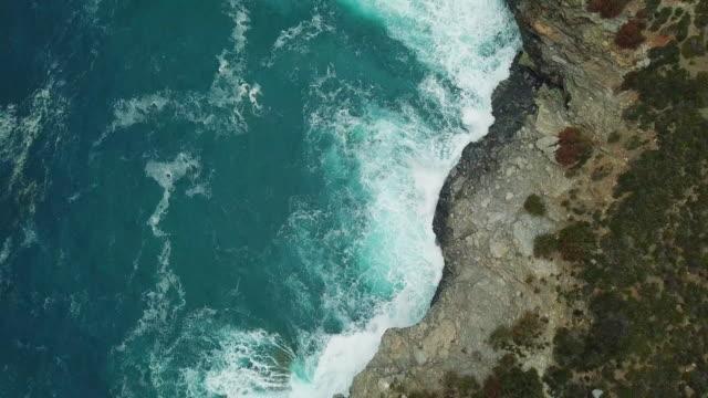 sea waves - island of elba stock videos & royalty-free footage