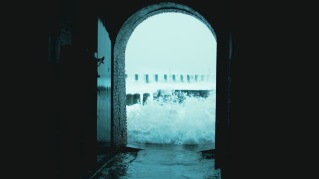 sea waves - arch architectural feature stock videos & royalty-free footage