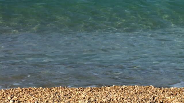 vídeos de stock, filmes e b-roll de hd: mar ondas - cres croácia