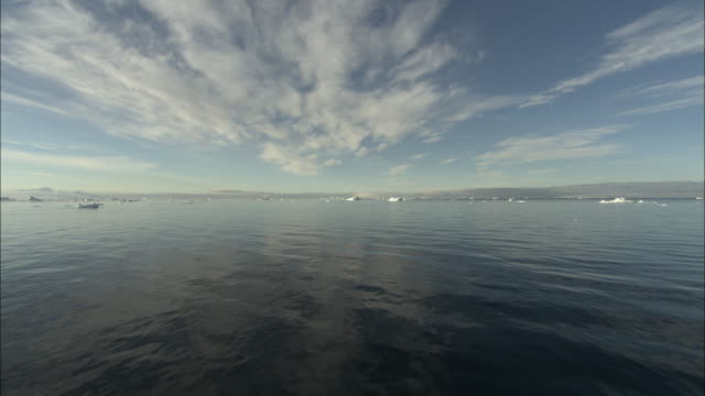 WS, Sea with ice floes in distance, Antarctica