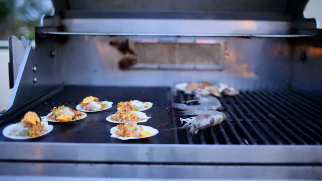 Seafood barbecue