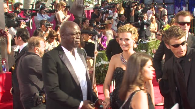 stockvideo's en b-roll-footage met seal, heidi klum at the 62nd primetime emmy awards - arrivals part 3 at los angeles ca. - emmy awards