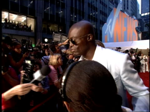 Seal on the 1995 MTV MTV Video Music Awardss red carpet