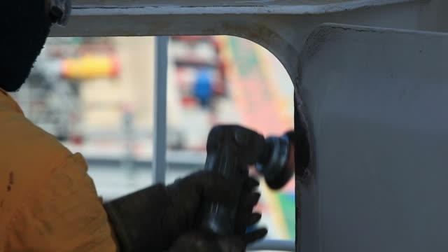 seaman job. - dry dock stock videos & royalty-free footage