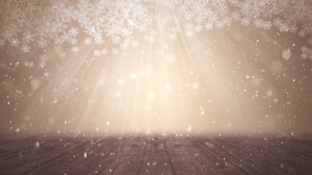 seamless abstract, snow theme, christmas, wooden background - general view stock videos & royalty-free footage