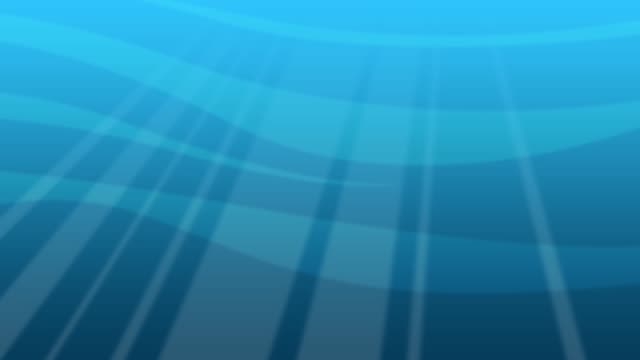 seamless loop of deep blue ocean from underwater background, light rays shining through stock video - tropical climate stock videos & royalty-free footage