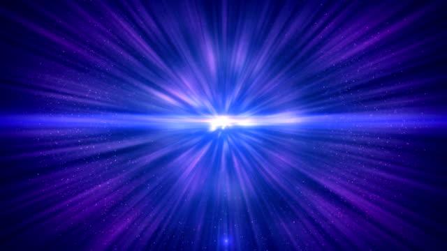 seamless loop of interstellar travel through a wormhole - supernova stock videos & royalty-free footage