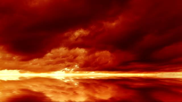 Endlosschleifen Wolken Zeitraffer