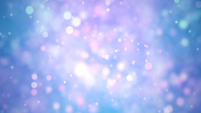 seamless multi-colored particles bokeh abstract, 4k video loop - celebration stock videos & royalty-free footage