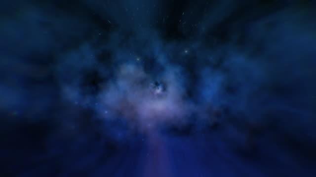 シームレスなスターフィールド銀河の背景 - 連続文様点の映像素材/bロール