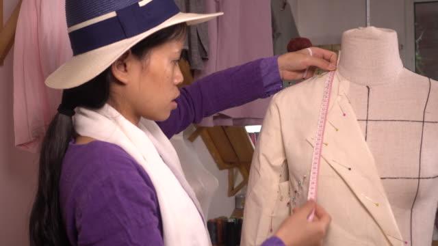 seamstress working