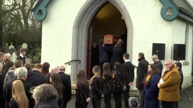 seamus mallon was a bridge-builder who dedicated himself to peacemaking, the head of the catholic church in ireland has told mourners at his funeral.... - coffin stock videos & royalty-free footage