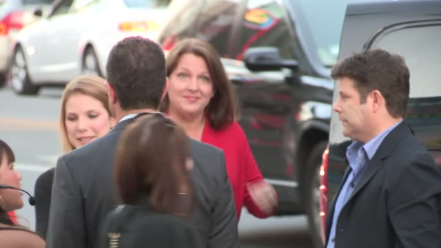 sean astin arrives at the mom's night out premiere in hollywood - celebrity sightings in los angeles on april 29, 2014 in los angeles, california. - sean astin stock videos & royalty-free footage