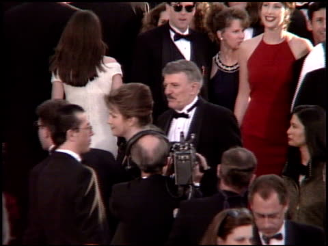 sean astin at the 1995 academy awards arrivals at the shrine auditorium in los angeles, california on march 27, 1995. - sean astin stock videos & royalty-free footage