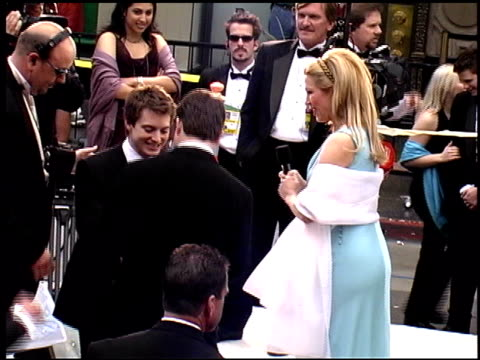 sean astin at the 2002 academy awards arrivals at the kodak theatre in hollywood, california on march 24, 2002. - sean astin stock videos & royalty-free footage