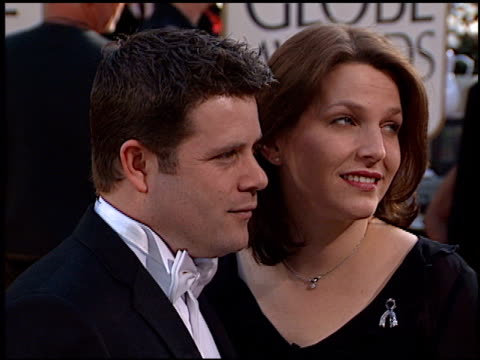sean astin at the 2002 golden globe awards at the beverly hilton in beverly hills, california on january 20, 2002. - sean astin stock videos & royalty-free footage