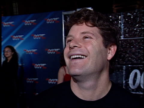 sean astin at the 'die another day' premiere at the shrine auditorium in los angeles, california on november 11, 2002. - sean astin stock videos & royalty-free footage