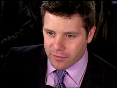 sean astin at the premiere of 'the lord of the rings: the return of the king' on december 3, 2003. - sean astin stock videos & royalty-free footage