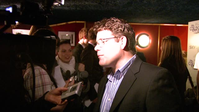 sean astin at the the colour of magic premiere at curzon mayfair in london on march 3, 2008. - sean astin stock videos & royalty-free footage