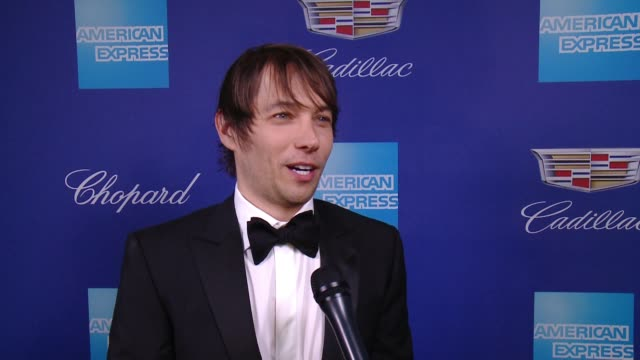 INTERVIEW Sean Baker on Williem Dafoe at the 29th Annual Palm Springs International Film Festival Awards Gala at Palm Springs Convention Center on...