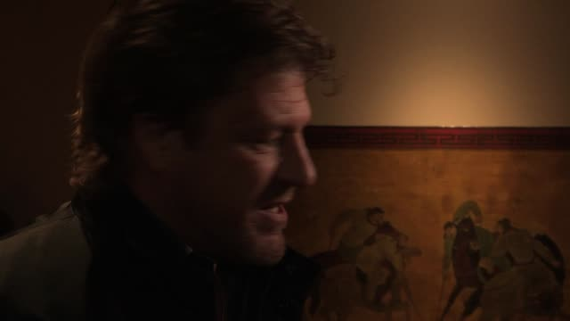 sean bean at cleanskin london premiere at the mayfair hotel on march 5, 2012 in london, england - sean bean stock videos & royalty-free footage
