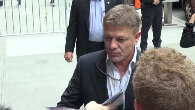 vidéos et rushes de sean bean at the 2013 tbstnt upfront presentation afterparty in new york ny on 5/15/13 - sean bean