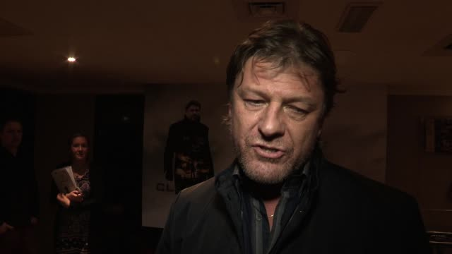 vidéos et rushes de sean bean on british film roles hollywood his and abhin's character what he looks for in a part at cleanskin london premiere at the mayfair hotel on... - sean bean