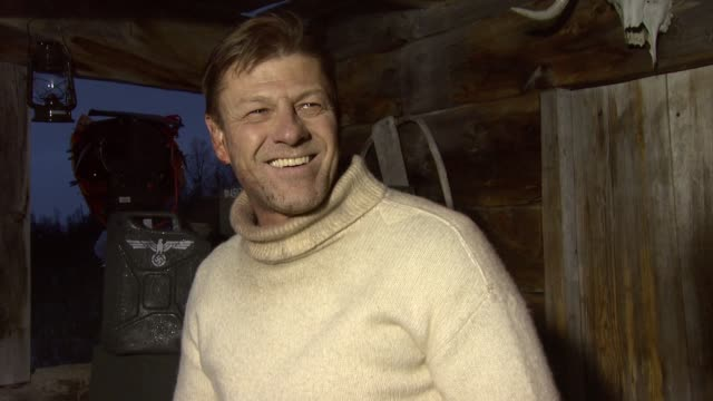 vidéos et rushes de sean bean on his character in the movie at the age of heroes set visit at haugesund - sean bean