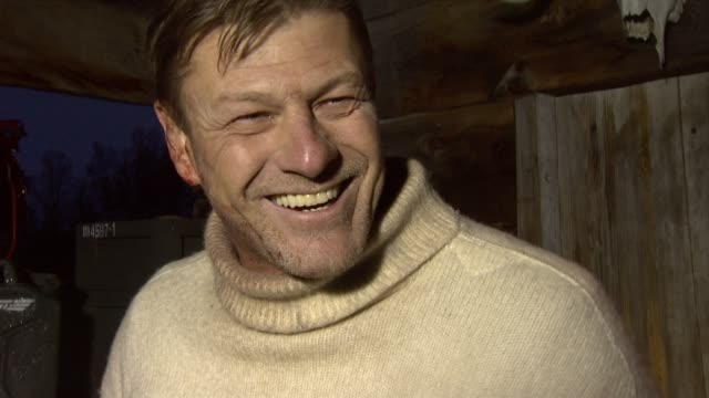 Sean Bean on how his wife in the movie is played by his real life wife Georgina Sutcliffe at the Age of Heroes Set Visit at Haugesund