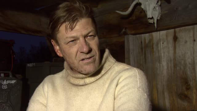 sean bean on making a british second world war movie rather than an american one, and on the story in general at the age of heroes set visit at... - sean bean stock videos & royalty-free footage