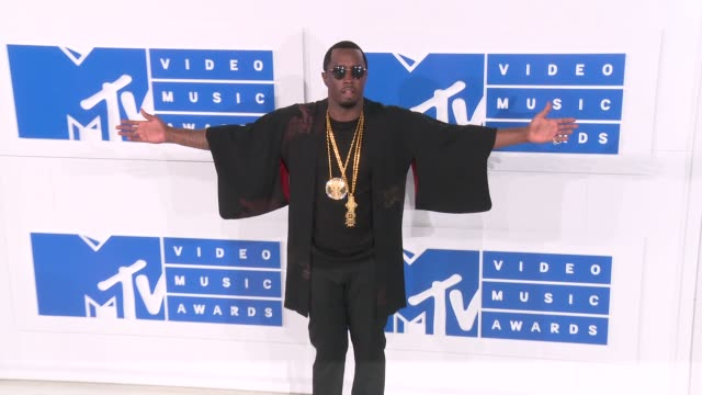 Sean Combs at 2016 MTV Video Music Awards Arrivals at Madison Square Garden on August 28 2016 in New York City