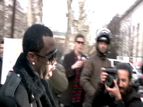 Sean Combs attends the Gareth Pugh Ready to Wear show during Paris Womenswear Fashion Week Fall/Winter 2011 at the Palais De Tokyo on March 3 2010 in...
