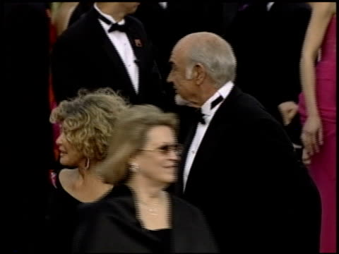sean connery at the 2004 academy awards arrivals at the kodak theatre in hollywood, california on february 29, 2004. - sean connery stock videos & royalty-free footage
