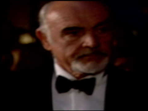 sean connery at the 2004 academy awards ballroom at the kodak theatre in hollywood california on february 29 2004 - 76th annual academy awards stock videos & royalty-free footage