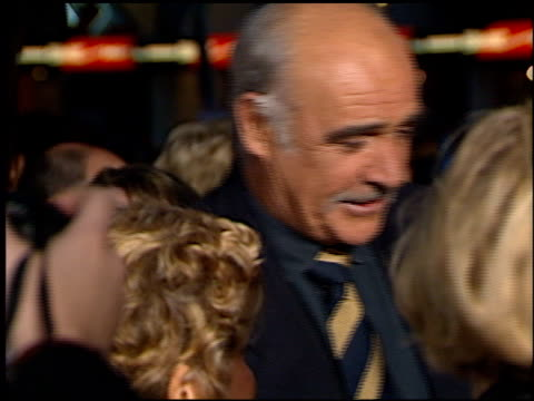 Sean Connery at the 'Entrapment' Premiere at Grauman's Chinese Theatre in Hollywood California on April 15 1999
