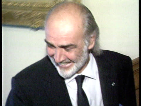 Sean Connery knighthood row LIB Inverness Connery up stairs at SNP conference
