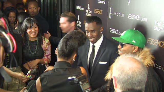 sean 'diddy' combs, and big boi at the 2nd annual essence black women in music event honoring janelle monae at los angeles ca. - big boi stock videos & royalty-free footage